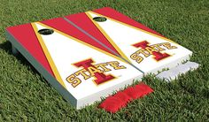 Iowa State Cyclones Bags game: Liking the design for when we make ours!