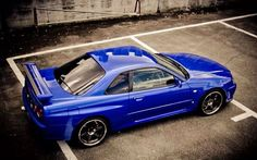 Nissan Skyline GT - R 34, in a colour I always wanted