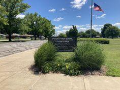 High School Principal, Main Entrance, Indiana, Maine, Sidewalk, Street, Side Walkway, Walkway, Walkways