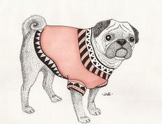 Animal Illustrations by Indi Maverick, via Behance