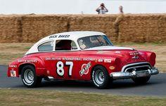1949 Oldsmobile Rocket - NASCAR action - 2009 Goodwood FoS