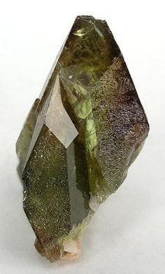 Titanite - Gamsberg Area, Khomas Region, Namibia Size: 5.0 x 2.8 x 1.2 cm