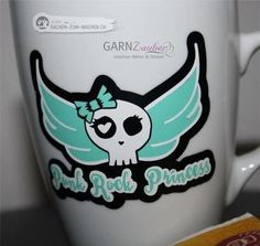 Plottermotiv für rockende Mädchen - Plotterdatei via Makerist.de