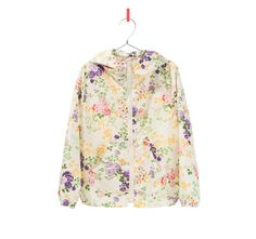 PRINTED RAINCOAT - Jackets - Girl - Kids | ZARA Belgium
