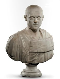 Male bust of a dignitary, Roman century A. Ancient Rome, Ancient Art, Roman Man, Art Romain, Roman Artifacts, Pottery Sculpture, Modern Sculpture, Roman Empire, Archaeology