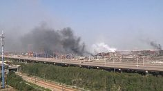 Was stored cyanide to blame for Tianjin warehouse explosion in China?   Daily Mail Online