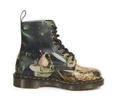 Martens Museum Collection Brings Art to Your Feet - bohemianizm Museum Collection, Last Call, Dr. Martens, Combat Boots, Bring It On, Footwear, Pairs, Shoes, Style