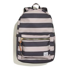 this herschel supply company settlement striped backpack is pretty cute for the times you need to take a backpack somewhere.
