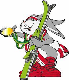 Hopsi - das Maskottchen der Schi-WM 2013 in Schladming stammt aus der Feder von Christian Seirer, Character Designer und Maskottchen Designer. Designer, Skiing, Joker, Fictional Characters, Art, Ski, Art Background, Jokers, The Joker