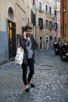 On the Street……La Trastevere, Rome  (this makes me want to go back to Rome!)