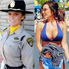 23 Pictures of Beautiful Girls In And Out of Uniform Will Blow Your Mind. Check out hot military girls in uniform and without uniform giving hot posture. Sexy Women, Badass Women, Mädchen In Uniform, Femmes Les Plus Sexy, Female Soldier, Military Women, Mädchen In Bikinis, Girls Uniforms, Belle Photo