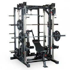 Gym Design, Layout Design, Home Multi Gym, Half Rack, Dip Station, Broly Movie, Lat Pulldown, Plate Storage, Smith Machine