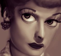 Lucille Ball (by cyrielkiller)
