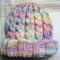 Mock Cable Baby Hat Knitting Pattern