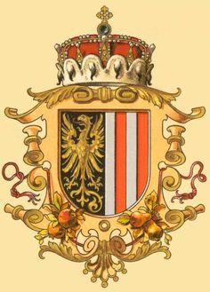 Archduchy of Upper Austria, Österreichisch Ungarische Wappenrolle 1900, Hugo Gerhard Ströhl.