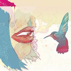 """Digital Illustration - """"Comic-inspired Psychedelia"""" by Christian Ward"""