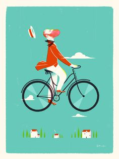 The Cycling Illustrations of Leo Espinosa