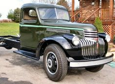 1946 Chevy 2 Ton Truck- My sons 1st truck