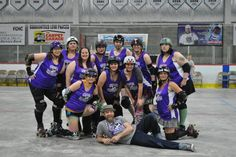 The Nordak Knockouts.My fav Lady Roller Derby Team.