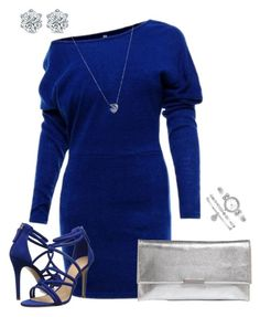 """Untitled #1056"" by deb105 ❤ liked on Polyvore featuring Schutz, Links of London, Loeffler Randall and Anne Klein"