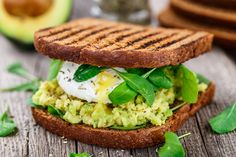 Avocado, tuna salad and egg on multigrain or whole wheat bread is a tasty and healthy lunch option. You've got to try it.