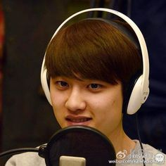 [OFFICIAL] 150408 KBSradio_kong's Weibo Update ~ EXO in KBS Kiss The Radio A&J