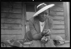 Agricultural worker in Sunday clothes, Belcross, NC, 1940. Library of Congress FSA/OWI photograph collection.