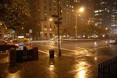 rain over new york