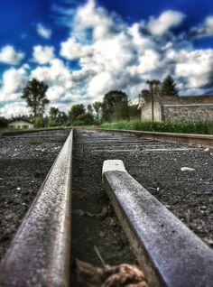 Rails - Ambert. Photo © Copyright Yves Philippe