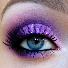 Really into purple eyeshadow right now!