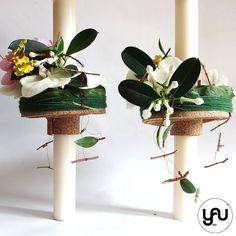 Lumanari cununie scurte orhidee bujori lathyrus - LC38 Church Flowers, Wedding Flowers, Planter Pots, Easter, Concept, Candles, Modern, Plants, Blog