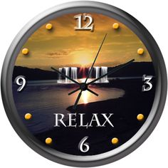 Time To Slow Down And Relax. Cool Clocks For All Special Occasions.