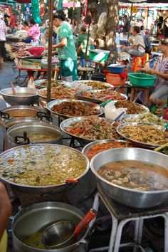 Thai food - street food in Thailand is so cheap, fresh, delicious and widely eaten by all. It is cheaper to eat out than cook for yourself!  I MISS HOME!