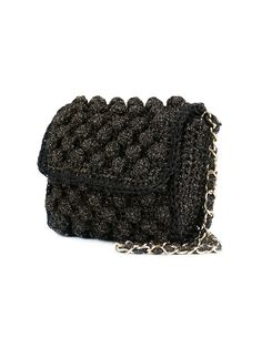 M Missoni knitted cross body bag