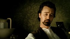Edward Norton as Eisenheim in The Illusionist (2006) by Neil Burger.
