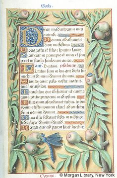 Book of Hours, MS M.732 fol. 51r - Images from Medieval and Renaissance Manuscripts - The Morgan Library & Museum