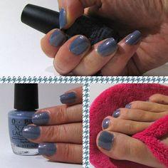 monday manicure  O.P.I. I don't give a Rotterdam!