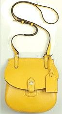Yellow bag.