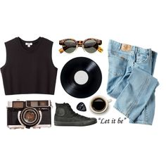 OOTD VIDEO ON YOUTUBE! Please watch and comment! by purite on Polyvore featuring moda, Nomia, Dickies, Converse and Floyd