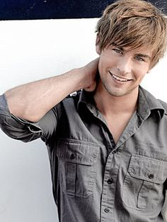 Dear Chase Crawford, I love you and your boy band hair.