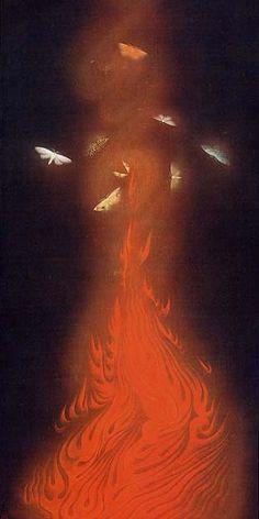 炎舞 : 目を疑うほど美しい幻想の世界…大正〜昭和の天才画家・速水御舟 Hayami gyoshu