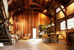 An obsession: Barn Homes