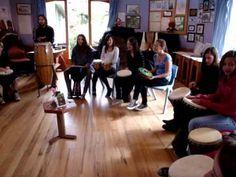 Class 7 Steiner School Drumming Workshop with Luke Parker - YouTube