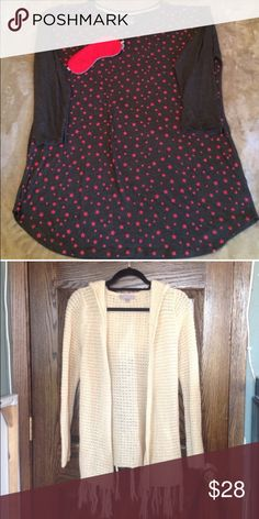Two piece bundle both XL and in perfect condition Sweaters
