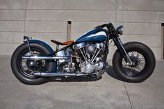 Customs From Jamesville: JAMESVILLE '48 EL PANHEAD BOBBER