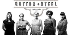 The Five Designers of Cotton and Steel Fabric Line: Kim Kight, Sarah Watts, Melody Miller, Rashida Coleman-Hale, and Alexia Marcelle Abegg.