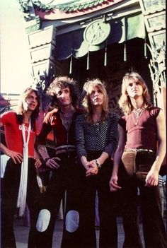Quiet Riot with Randy Rhoads.......
