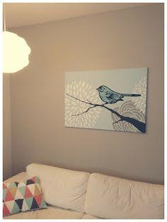 Acrylic painting.