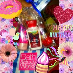 my uncle and Eva came to hang out and he got my my fav thing bath and body works💠😇😍😻😘thank you you know me so well😇 I was so surprised 💕💗🎀🌙💘🍁🍂🎃