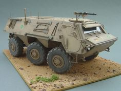 TPz-1 Fuchs A6 ABC ISAF, Afghanistan 2006 (1:35 Revell)